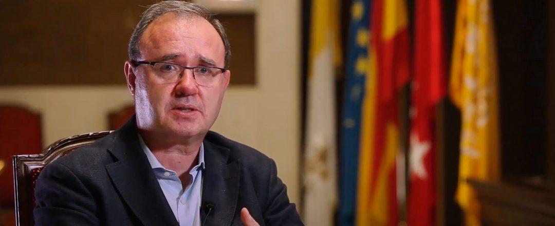 Toma de posesión del nuevo rector de Comillas, Enrique Sanz Giménez-Rico, sj