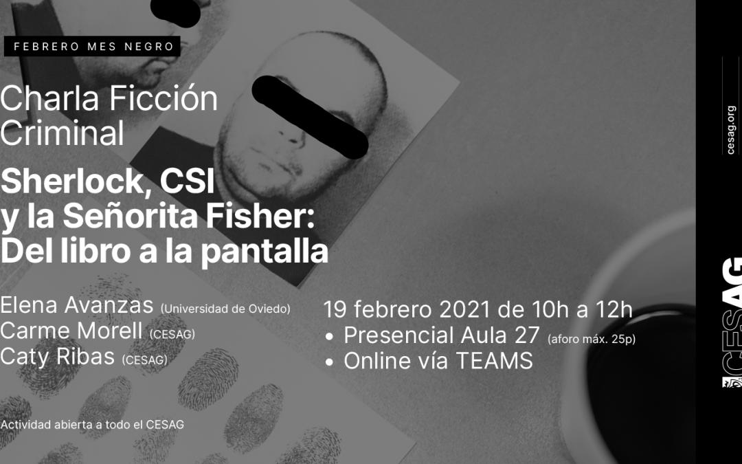 Jornada Ficción Criminal: «Sherlock, CSI y la Señorita Fisher»