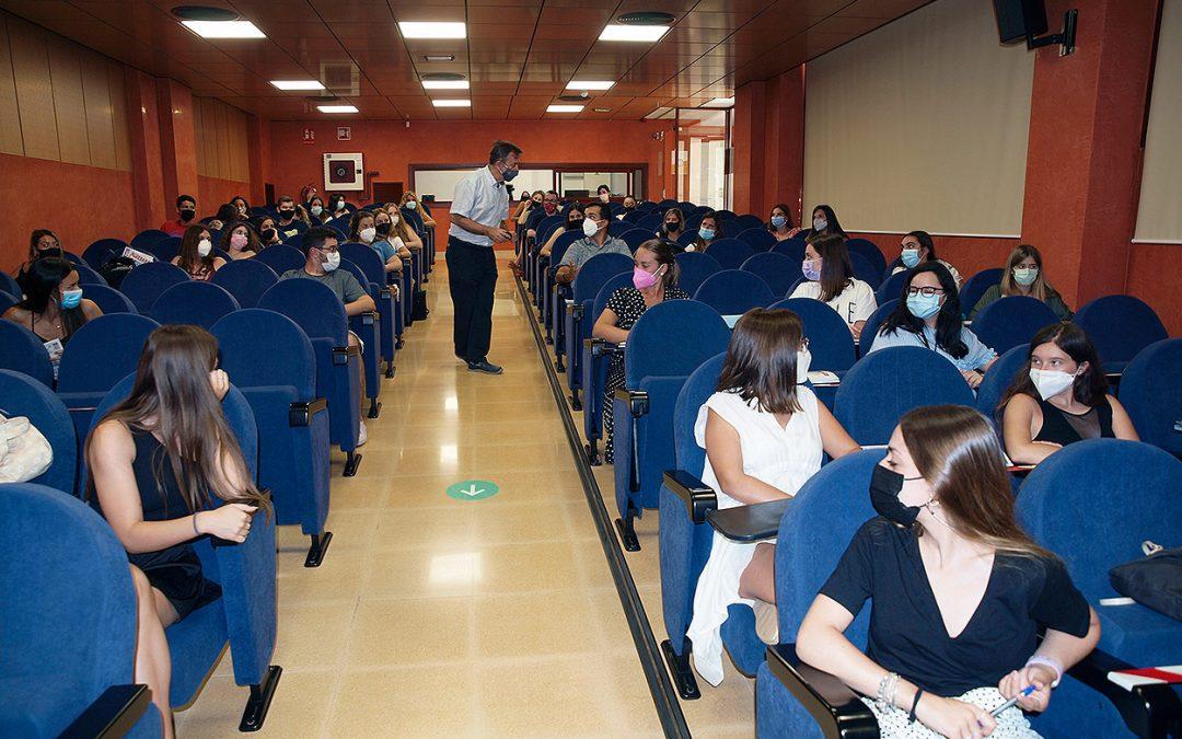 Fotografías del Seminario Presencial de la DECA online 2021